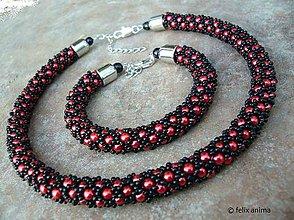 Sady šperkov - BOLERO náhrdelník a náramok - 6053181_