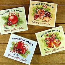 Drogéria - Sada vianočných mydiel (4 ks) - 6054578_