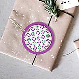 Dekorácie - Folk vianočné ozdoby 100% autorská tvorba - 6053374_
