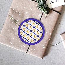 Dekorácie - Folk vianočné ozdoby 100% autorská tvorba (vianočná guľa 2) - 6053364_