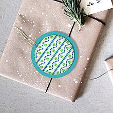 Dekorácie - Folk vianočné ozdoby 100% autorská tvorba (vianočná guľa 4) - 6053366_
