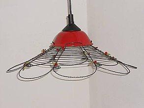 Svietidlá a sviečky - Lustr-něžně rozkvetlý...3 - 6057224_