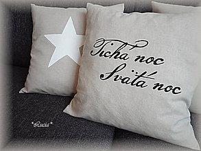 Úžitkový textil - Tichá noc Svätá noc... - 6059082_