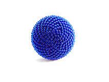 BUTTON kráľovská modrá - výrazný prsteň