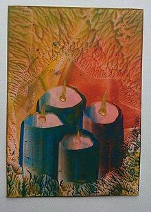 Papiernictvo - Vianočný pozdrav - advent - 6056921_