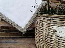 Úžitkový textil - Ľanový obrus Exclusive - 6057735_