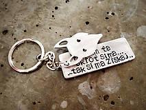 Kľúčenky - ..skroť si ma :) / mix 2ks / hrúbka 2mm - 6064903_