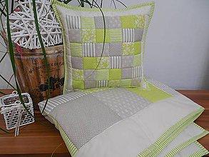Úžitkový textil - celý set prehoz a vankúš za zvýhodnenú cenu - 6065586_