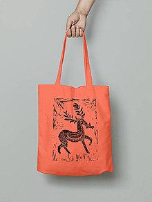 Nákupné tašky - Nákupka - Mr. Jeleň Salmon - 6064417_