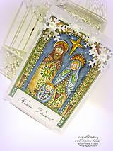 Papiernictvo - Svätá rodina v kroji odetá - 6063180_