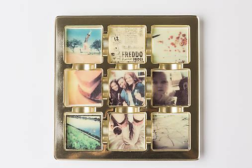 Čokoláda s tvojimi fotkami