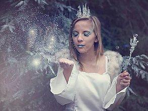 Ozdoby do vlasov - korunka ledová královna - 6060469_