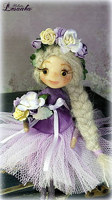 Dekorácie - ♥ Elfka VIOLKA ♥ - 6069855_