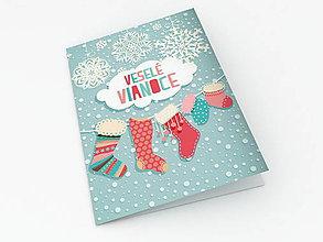 Papiernictvo - Vianočný pozdrav - 6069338_