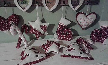 Dekorácie - Vianoce po vintage - 6071378_