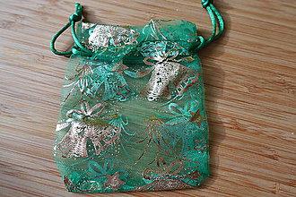 Obalový materiál - Darčekové vrecká z organzy 3 - 6069712_