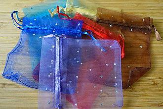 Obalový materiál - Darčekové vrecká z organzy 4 - 6069754_