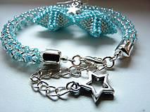 Sady šperkov - Frozen- set náramok a náušnice - 6067392_