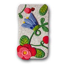 Dekorácie - Kvetová doštička - 6066871_