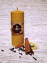 Svietidlá a sviečky - Sviečka z medzistienky - hrubá - 6077161_
