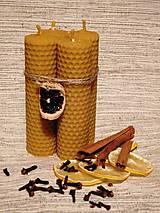 Svietidlá a sviečky - Sviečka z medzistienky - tenká - 6077265_