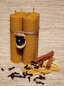 Svietidlá a sviečky - Svietiaca štvorica - tenká - 6077078_