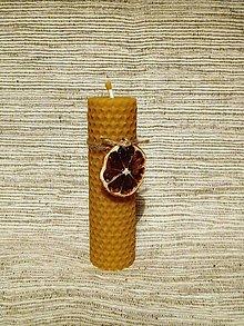 Svietidlá a sviečky - Sviečka z medzistienky - tenká - 6077264_