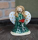 Socha - anjel bodkáčik - 6073074_