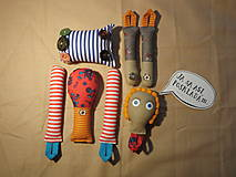 Hračky - Gombíková bábika miluje stromy... - 6075638_