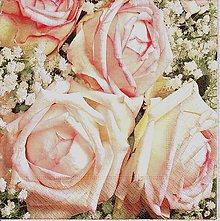 Papier - 457 ruže - 6074999_
