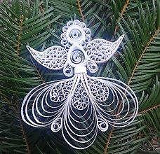Dekorácie - Anjel - 6074363_