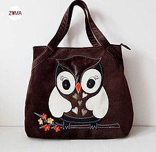 Kabelky - ADELE MIDDLE Owl - 6075517_