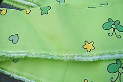Textil - Zelená látka - 6074977_