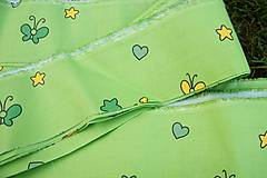 Textil - Zelená látka - 6074978_