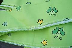 Textil - Zelená látka - 6074979_