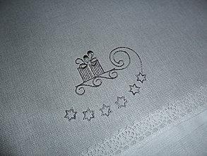 Úžitkový textil - Vianoce plné darčekov. - 6081536_