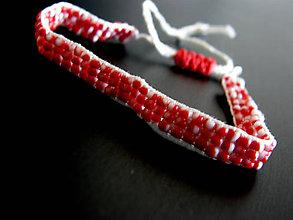 Náramky - cervene ska - 6081833_