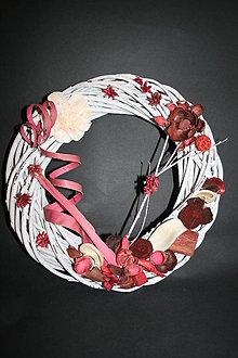 Dekorácie - venček jarný, jesenný - 6081233_