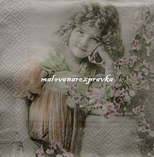 Papier - Sagen kolekcia dievčatko - 6081245_