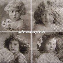 Papier - Sagen kolekcia štyri dievčatá - 6081309_