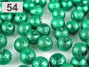 Korálky - Voskované perly Ø 12mm vrúbkované - 6082625_