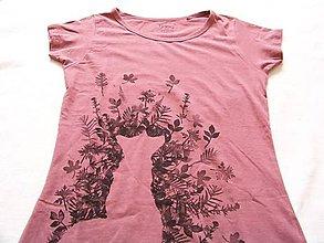 Tričká - Dámske tričko s líškou: Voniam, vetrím -objednávka - 6078698_