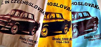 Oblečenie - embéčko Škoda MB 1000 - 6078168_