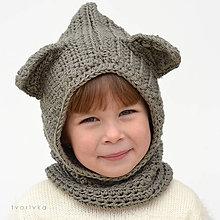 Detské čiapky - Dobrý vĺčko SKLADOM - 6084500_