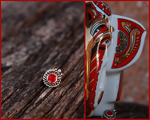 Indický piercing