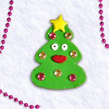 Magnetky - Vianočný stromček s osobnosťou 3 - zamilovaný - 6084004_