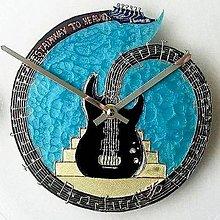 Hodiny - Maľované hodiny ROCK (in) ME - 6089571_