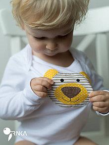 Detské oblečenie - body BRUMÍK (dlhý/krátky rukáv) - 6091160_