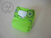 Zelená Mandala - PUL Kapsová Plienočka (veľ. S-M-L) + vkladačka