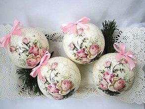 Dekorácie - Romantické vianoce. - 6096588_
